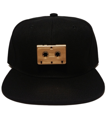 GOLDEN+TAPE+BLACK+SNAPBACK